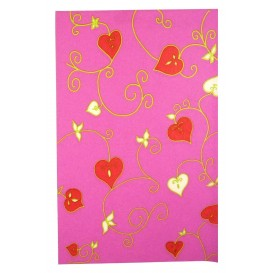 FEUILLE DECOPATCH COEUR