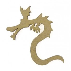 sujet en bois dragon n°2