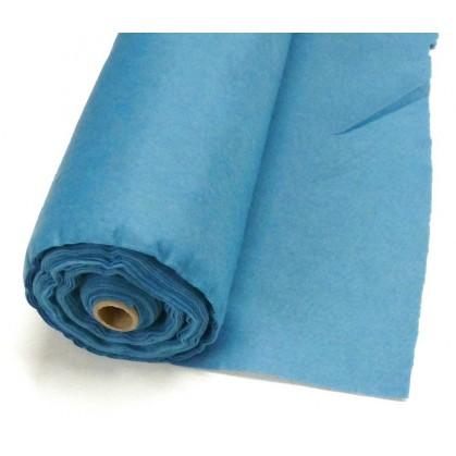 feutrine bleu nattier largeur 0,87m au mètre