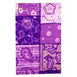 FEUILLE DECOPATCH FORME VIOLETTE