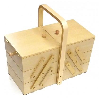 for Boite a couture en bois a decorer