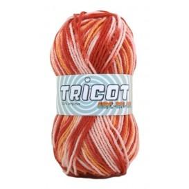 4 pelotes de laine tricot arc en ciel