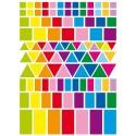 gommettes géométriques bis 324 pièces