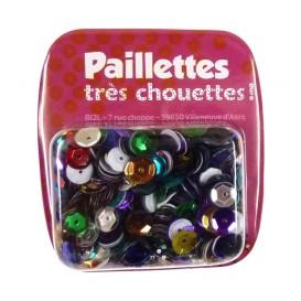 PAILLETTES 15 GRS MULTICOLORE