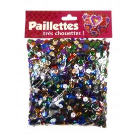 PAILLETTES 100 GRS MULTICOLORE