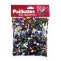 paillettes 6mm multicolores 100g