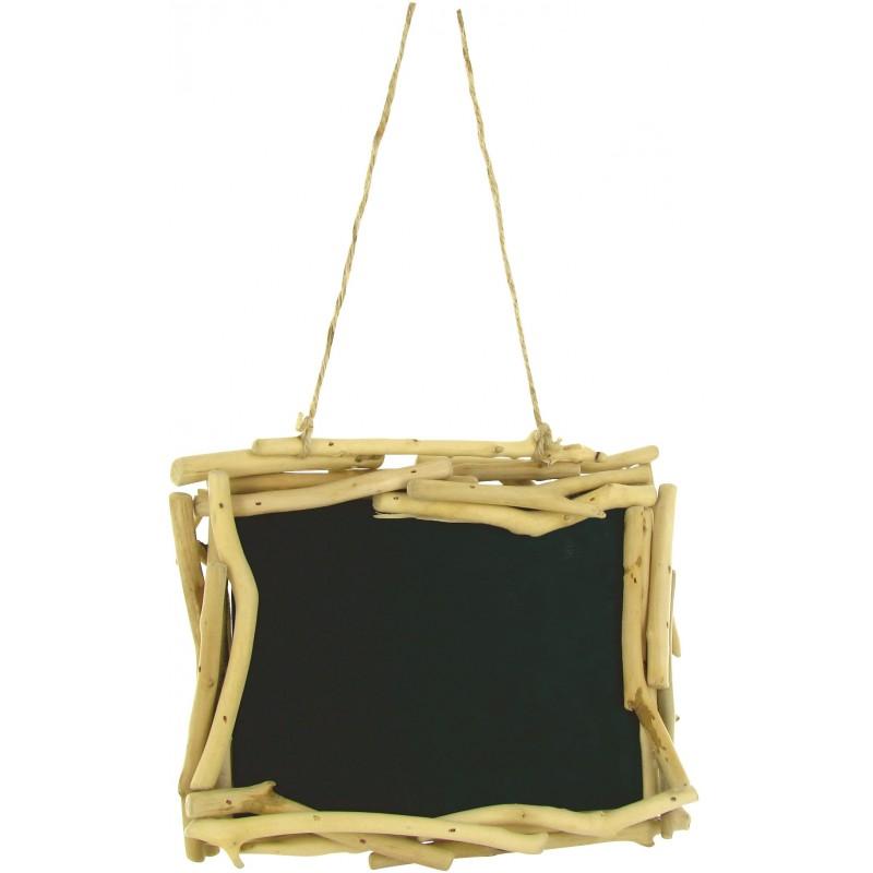 ardoise en bois flott d corer. Black Bedroom Furniture Sets. Home Design Ideas