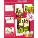 kit 3 cartes sable foret