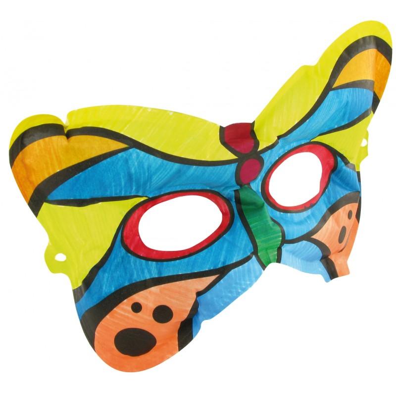Masque papillon de carnaval mes crations biboque photos club - Masque papillon carnaval ...