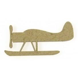 sujet en bois avion n°2