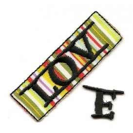stickers love 2pcs