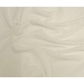 tissu éponge blanc largeur 160cm au mètre