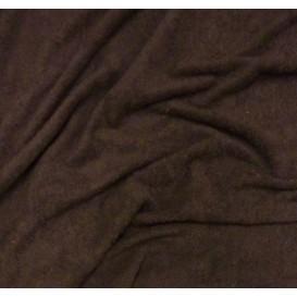 tissu éponge chocolat largeur 160cm au mètre