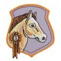 écusson tête de cheval thermocollant n°2