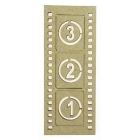 sujet en bois bande cinéma 3,2,1