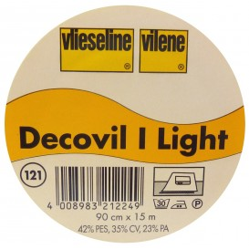vlieseline decovil light largeur 90cm x 50cm