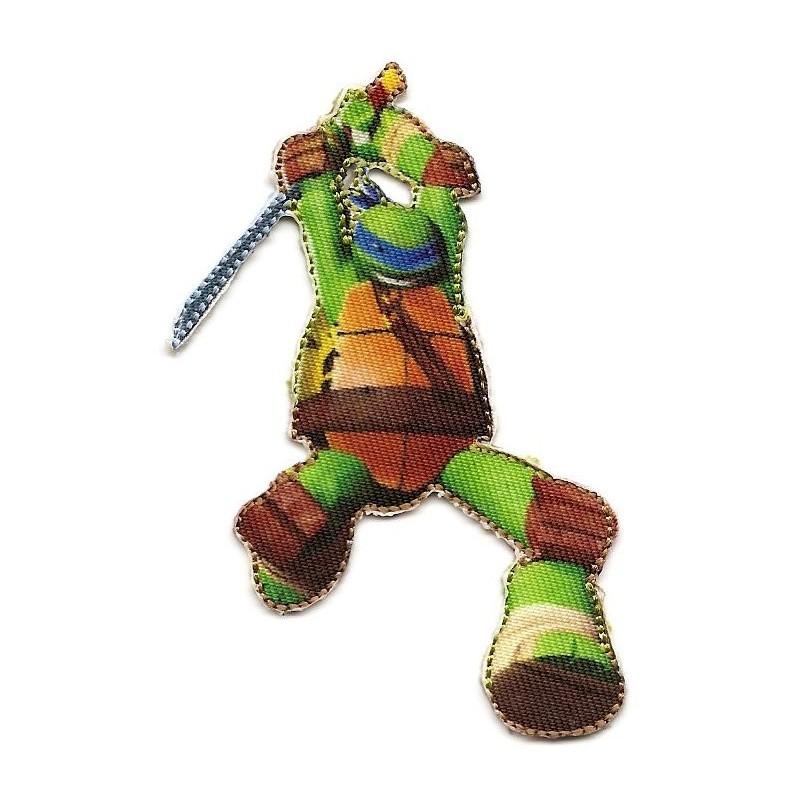 Cusson tortue ninja leonardo thermocollant - Leonardo tortues ninja ...