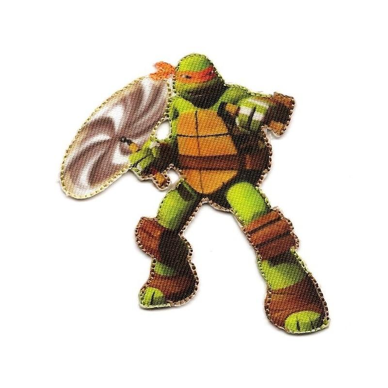 Cusson tortue ninja michelangelo thermocollant - Michaelangelo tortue ninja ...