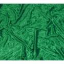 tissu panne de velours vert largeur 150cm x 50cm