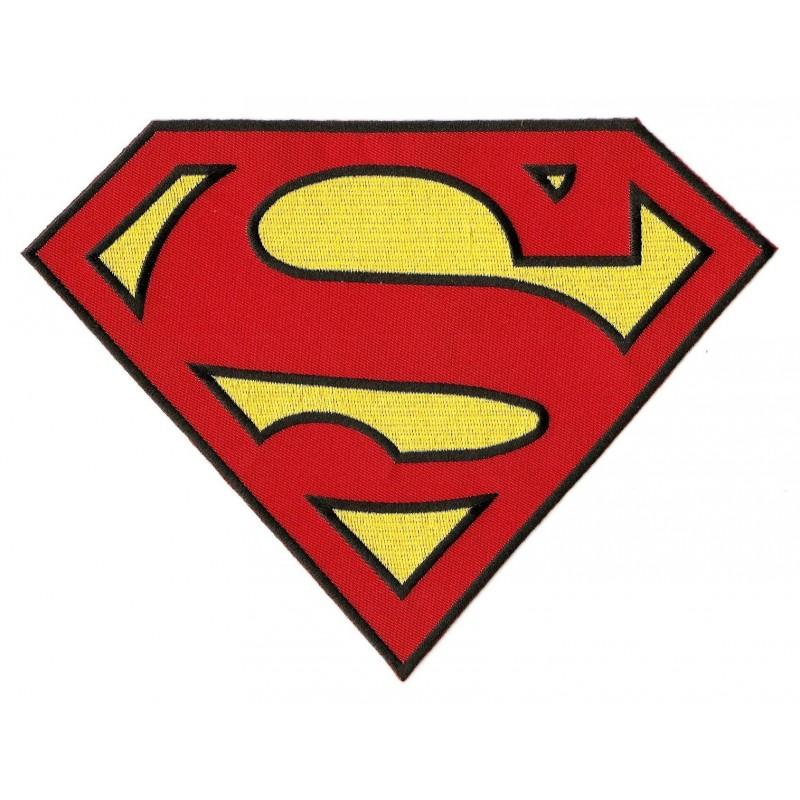 Cusson grand symbole superman thermocollant - Symbole de superman ...