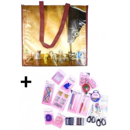 sac de rangement thème couture