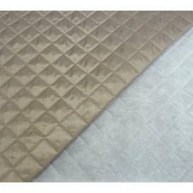 tissu doublure matelassée gris largeur 150cm x 50cm