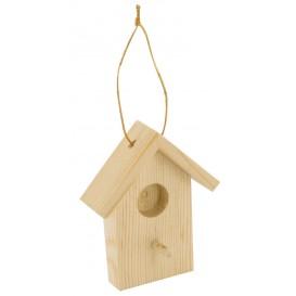 2 nichoirs 7x5,5x1,5cm à suspendre en bois