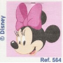 kit canevas disney tête de minnie