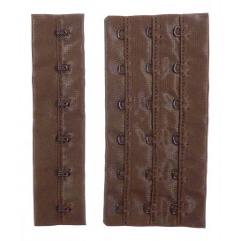 Rallonge de soutien-gorges marron 11cm