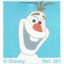 kit canevas disney olaf la reine des neiges