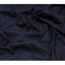 tissu popeline stretch uni marine largeur 143cm x 50cm
