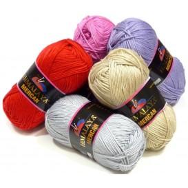 pelote de laine himalaya mercan (15 coloris)