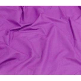 tissu popeline uni violet largeur 140cm x 50cm