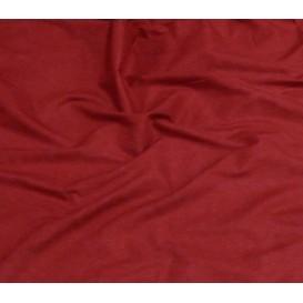 tissu popeline uni bordeaux largeur 140cm x 50cm