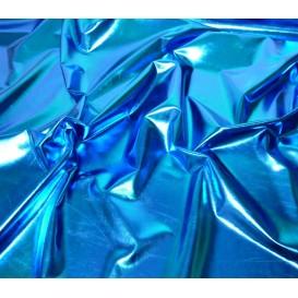 tissu lamé stretch bleu largeur 147cm x 50cm