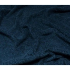 tissu éponge marine largeur 160cm x 50cm