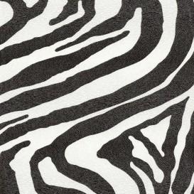 tissu simili cuir zebra largeur 140cm x 50cm