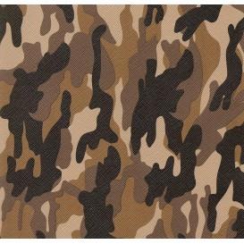 tissu simili cuir camouflage largeur 140cm x 50cm