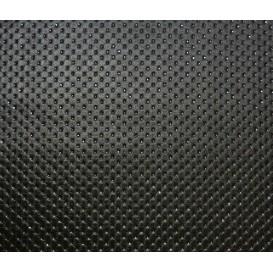 tissu simili cuir truva noir paillette largeur 140cm x 50cm