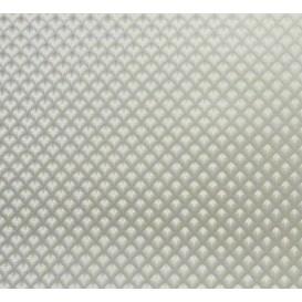 tissu simili cuir saphir argent largeur 140cm x 50cm