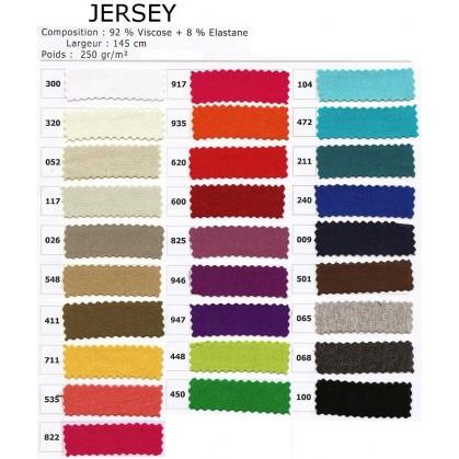 tissu jersey sur commande sous 72h largeur 145cm x 50cm