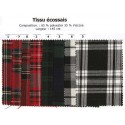 tissu écossais sur commande sous 72h largeur 145cm x 50cm