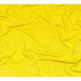 tissu lycra léger jaune soleil largeur 140cm x 50cm
