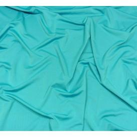 tissu lycra léger turquoise largeur 140cm x 50cm