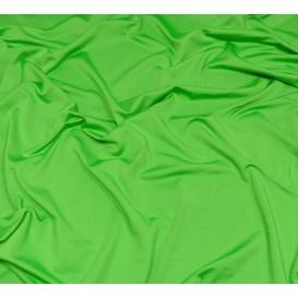 tissu lycra léger vert largeur 140cm x 50cm