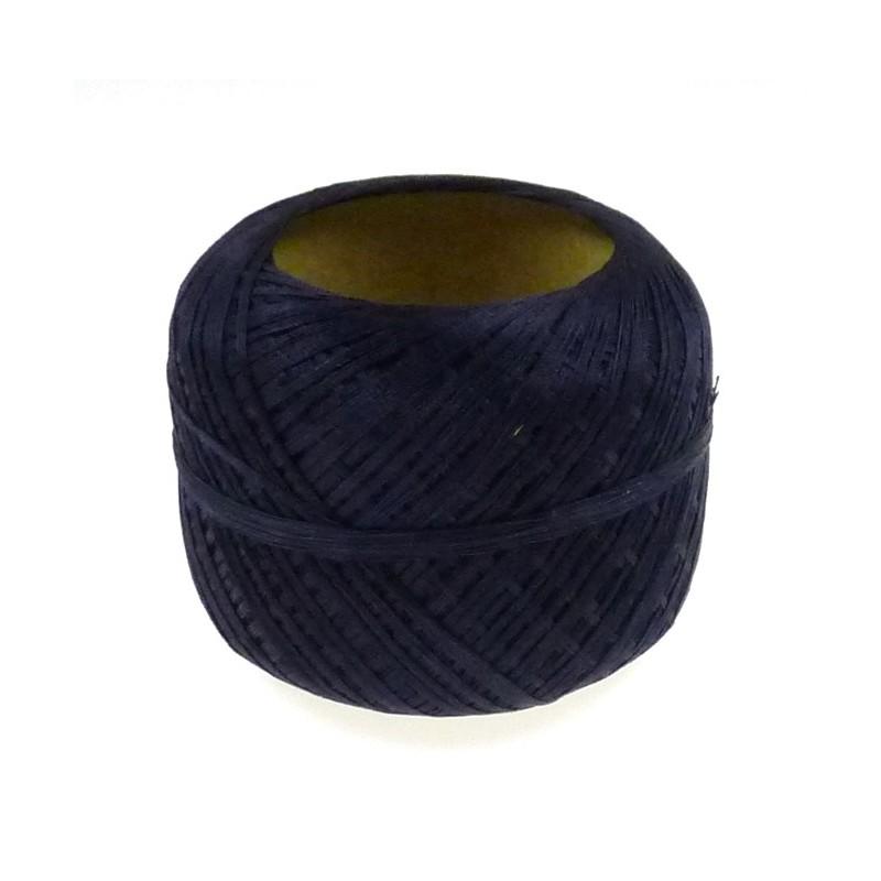 bobine de fil repriser en coton bleu marine. Black Bedroom Furniture Sets. Home Design Ideas