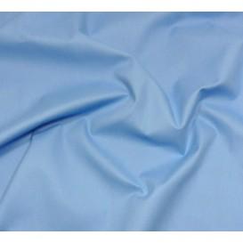 tissu cotoval uni bleu nattier largeur 250cm x 50cm