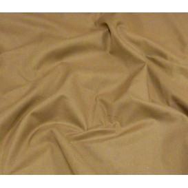 tissu cotoval uni taupe largeur 250cm x 50cm