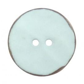 bouton nacre rond couleur pastel
