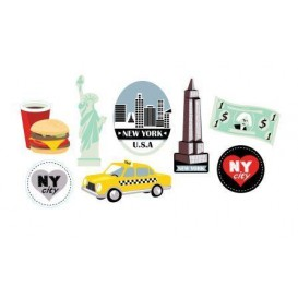 8 embellissements new york en bois